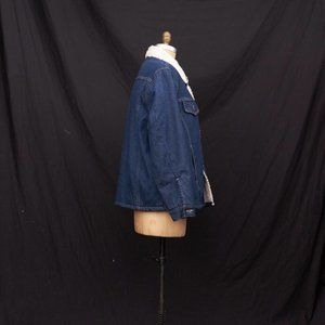 1980s Big Mac Insulated Denim Jacket Coat